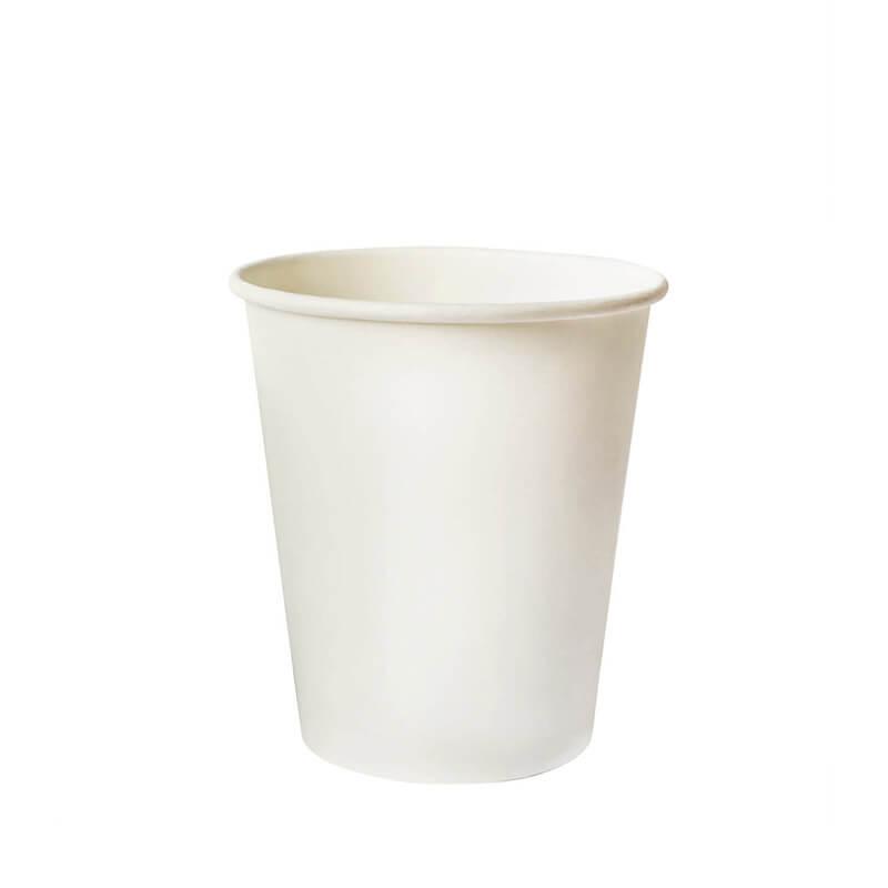 Бумажный стакан, 195 мл., белый