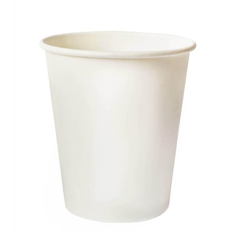 Бумажный стакан, 330 мл., белый