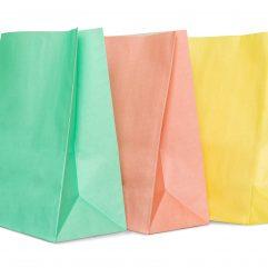 Пакеты цветные